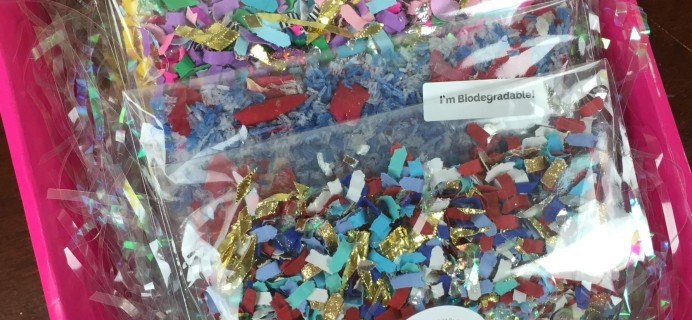 The Confetti Bar July 2016 Subscription Box Review