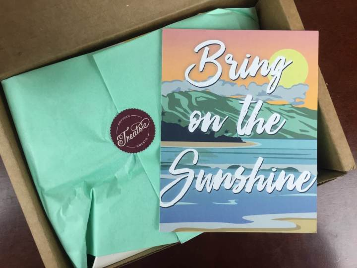 Treatsie Box June 2016 unboxing