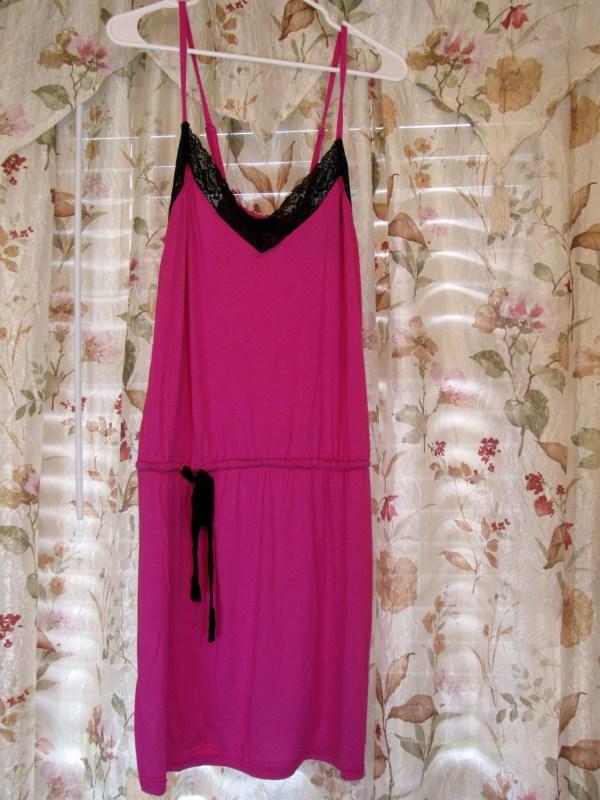 Spaghetti Strap Dress - Baby Pink