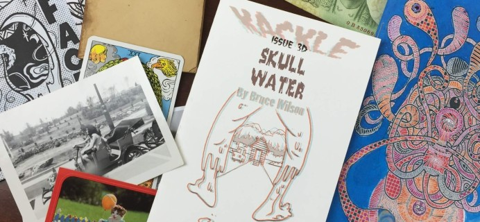Zine-o-matic June 2016 Subscription Box Review + Coupon!
