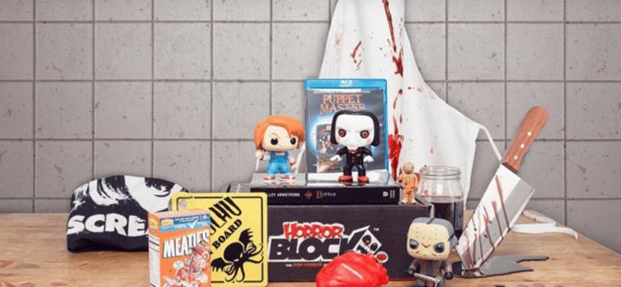 Horror Block December 2016 Spoilers #3 & Coupon!