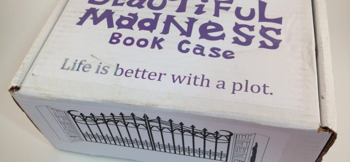 Beautiful Madness Book Case Chapter One June 2016 Subscription Box Review + Coupon