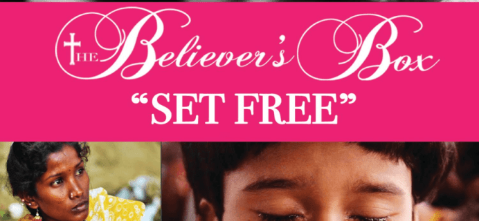 Believer's Box July 2016 Theme Spoilers + Coupon