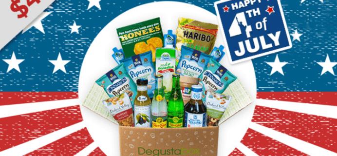Degustabox Flash Sale: First Box $4.99!