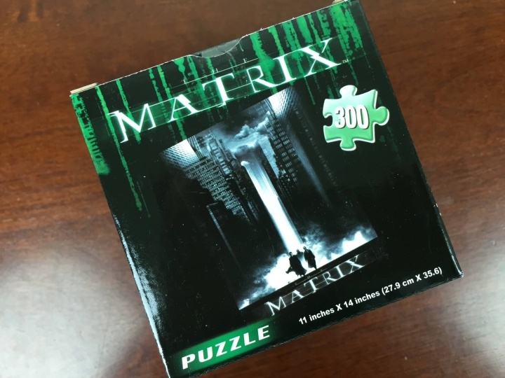 loot crate june 2016 matrix puzzle