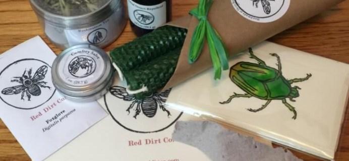 Red Dirt Co. Surprise Box Subscription Box Review – June 2016