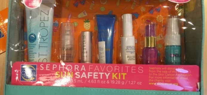 Sephora Sun Safety Kit 2016 In Stores Now! + Full Spoilers