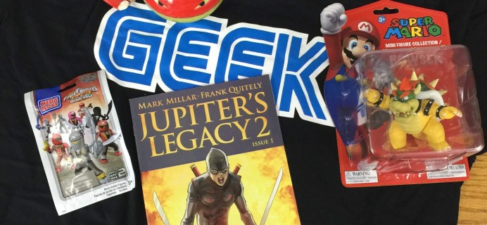 My Geek Box July 2016 Subscription Box Review