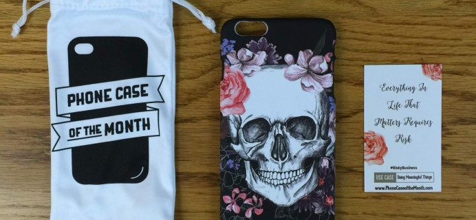 Phone Case of the Month Subscription Review + 50% Off Coupon – July 2016