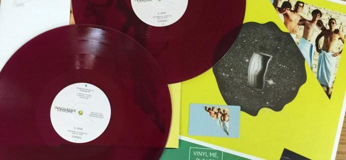 Vinyl Me, Please Subscription Box Review – July 2016