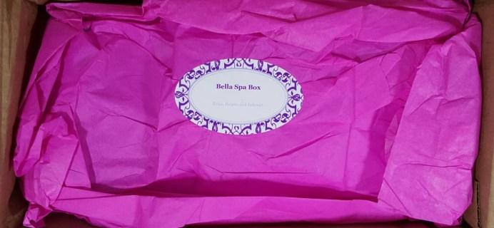 Bella Spa Box June 2016 Subscription Box Review