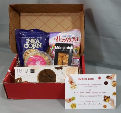 Try The World Snack Box July 2016 Subscription Box Review