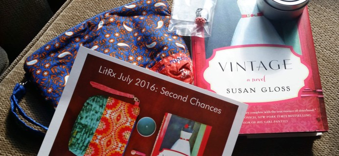 LitRx Subscription Box Review – July 2016