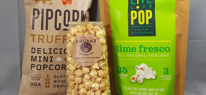 MOUTH: Popcorn Every Month Subscription Box Review – July 2016