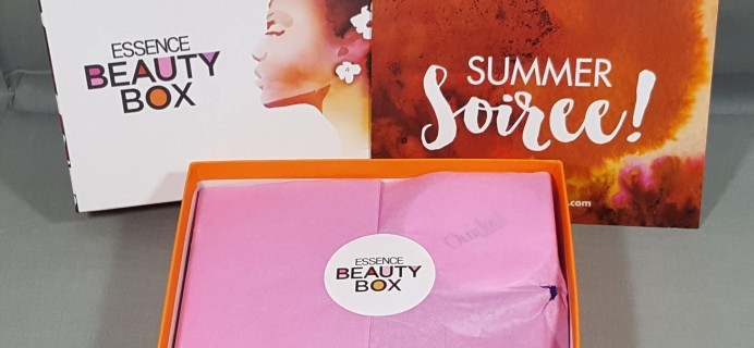 Essence Beauty Box July 2016 Subscription Box Review