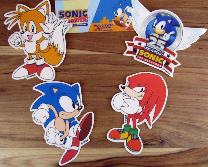 Sonic the Hedgehog Decal Set
