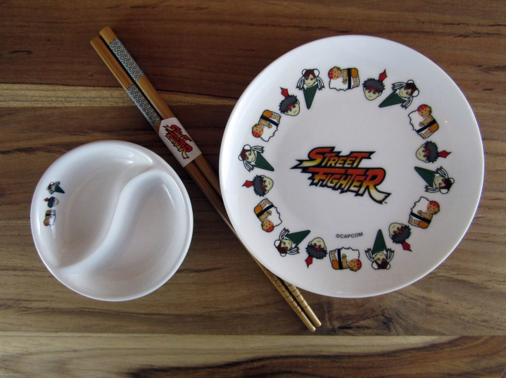 Exclusive Street Fighter Sushi Set