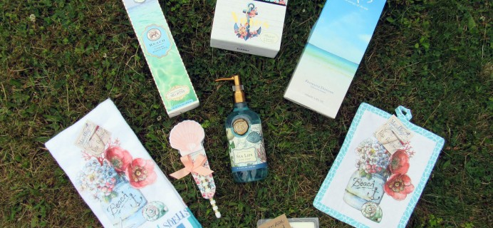 Artistry Gifts Beach House Inspirations Limited Edition Box Review