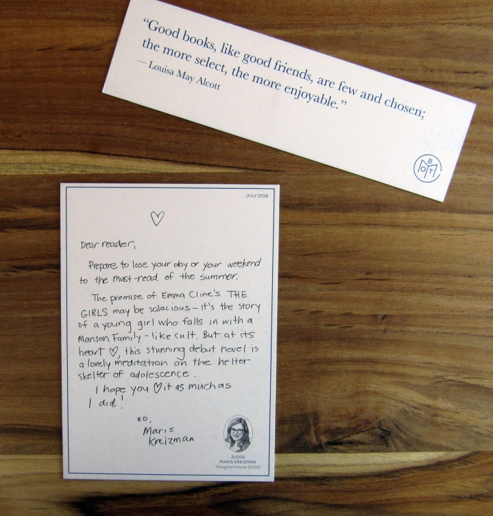Letter and BookMark
