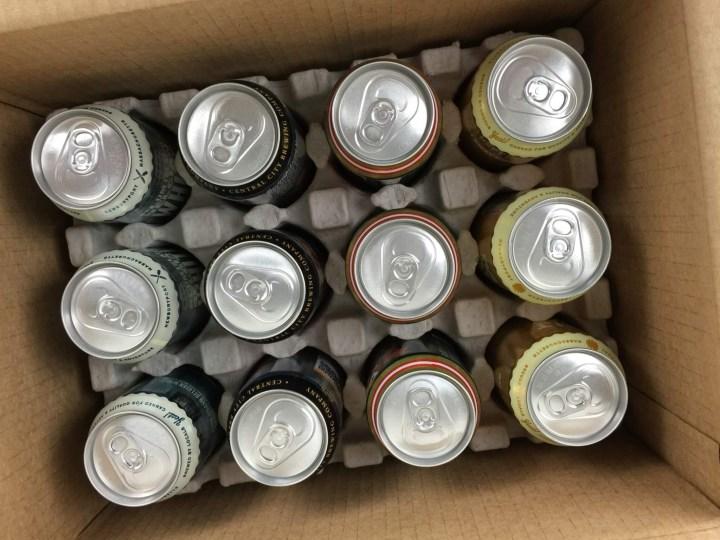 Craft Beer Club July 2016 unboxed
