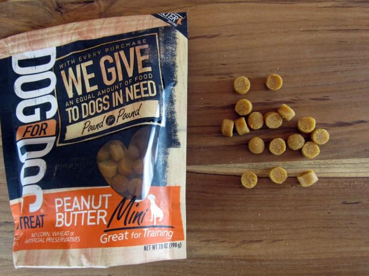 Dog for Dog Peanut Butter Mini Treats