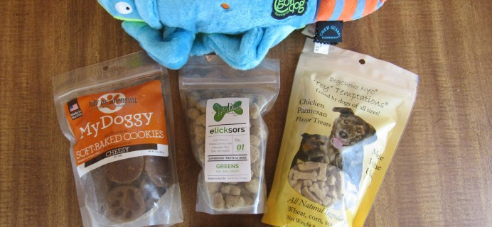 Daisy-Care Subscription Box Review #2 & Coupon – May 2016 Large Dog