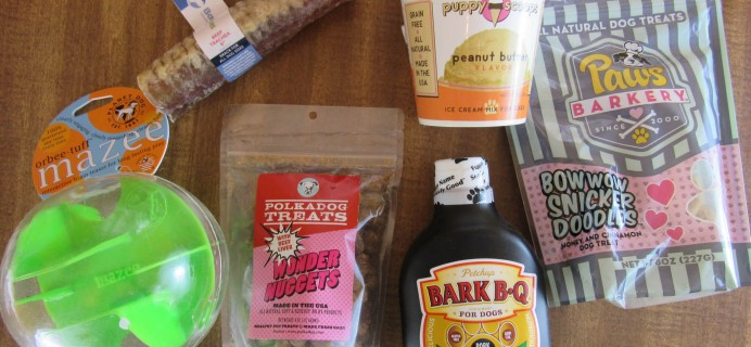 Daisy-Care Subscription Box Review & Coupon – July 2016 Large Dog