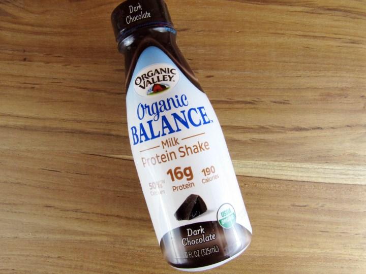 Organic Valley Organic Balance Milk Protein Shake in Dark Chocolate