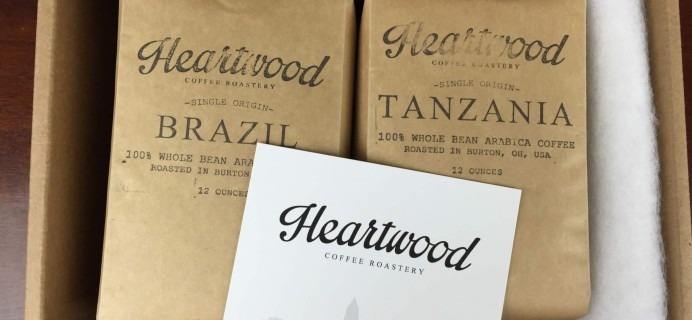 Heartwood Coffee Club July 2016 Subscription Box Review + 50% Off Coupon