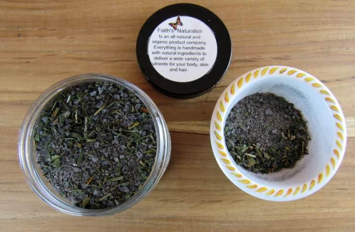 Faith Naturals Activated Black Charcoal Detox Soak