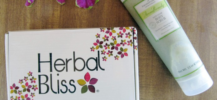 Herbal Bliss Subscription Box Review – July 2016