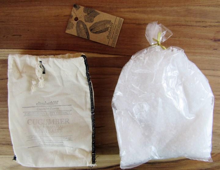 Elizabeth W Cucumber Bag of Salts