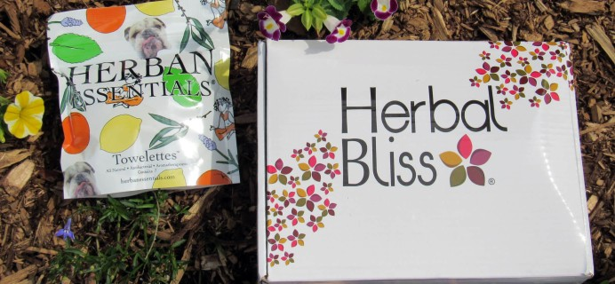Herbal Bliss Subscription Box Review – June 2016