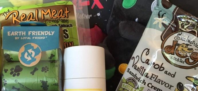 Pooch Perks July 2016 Subscription Box Review & Coupon