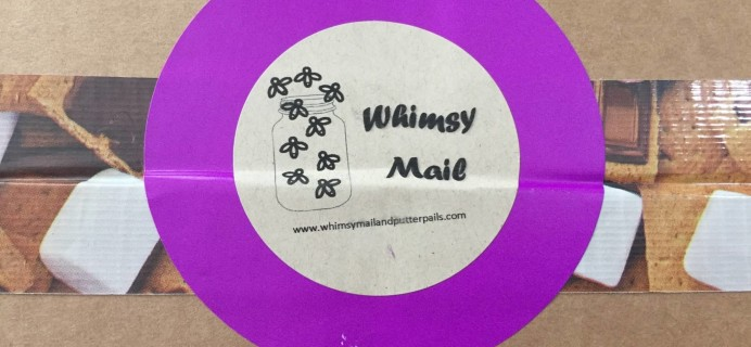 Whimsy Mail July 2016 Subscription Box Review