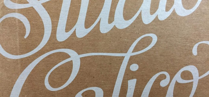Studio Calico Stationery Kit August 2016 Subscription Box Review