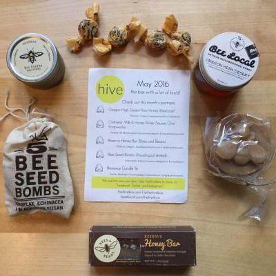 Hive Box Subscription Box Review – May 2016