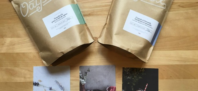Oat Box July 2016 Subscription Box Review + Coupon