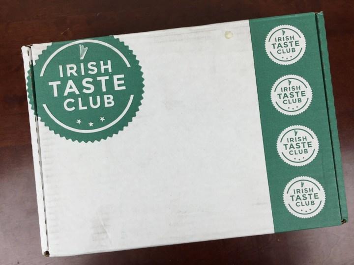 Irish Taste Club July 2016 Box
