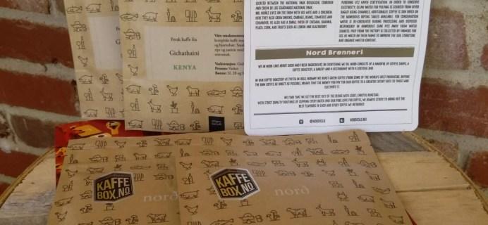 KaffeBox June 2016 Subscription Box Review