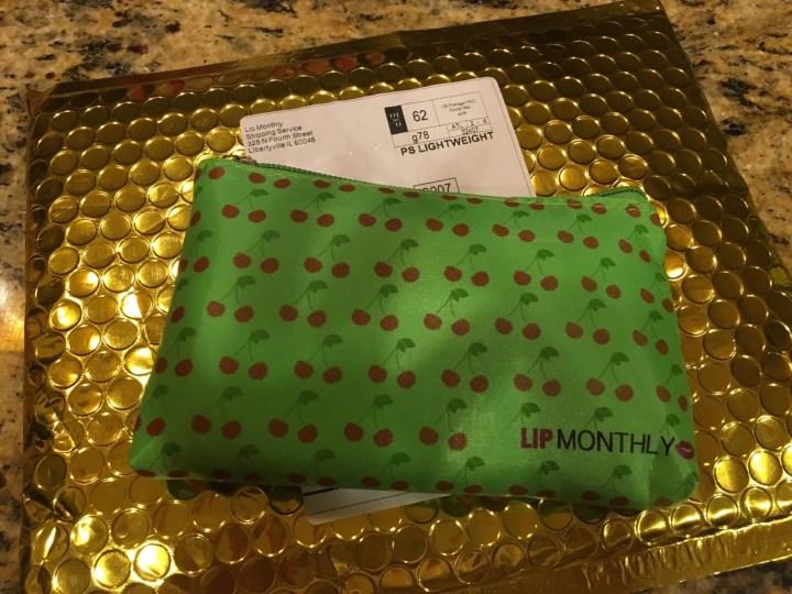 Lip Monthly June 2016 box
