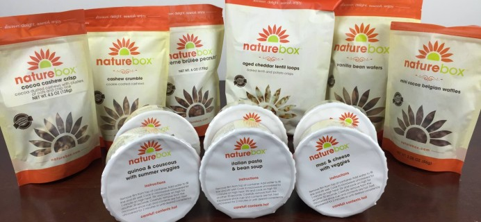 NatureBox July 2016 Subscription Box Review & Coupon