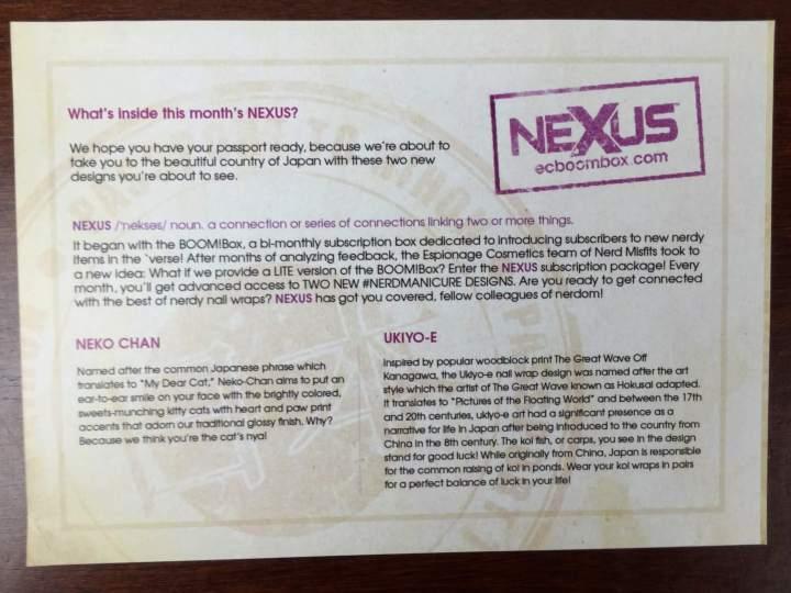 Nexus by Espionage Cosmetics July 2016 (6)