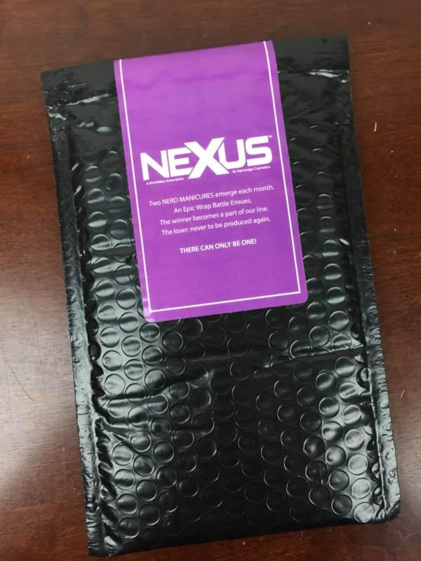 Nexus by Espionage Cosmetics July 2016 box