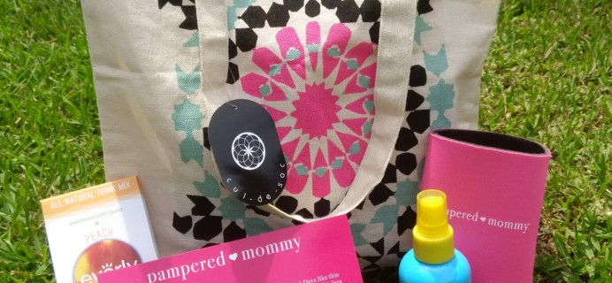 Pampered Mommy July 2016 Subscription Box Review & Coupon