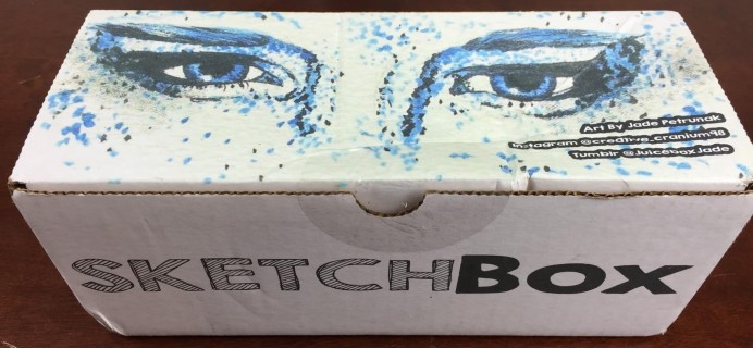 SketchBox July 2016 Subscription Box Review + Coupon!