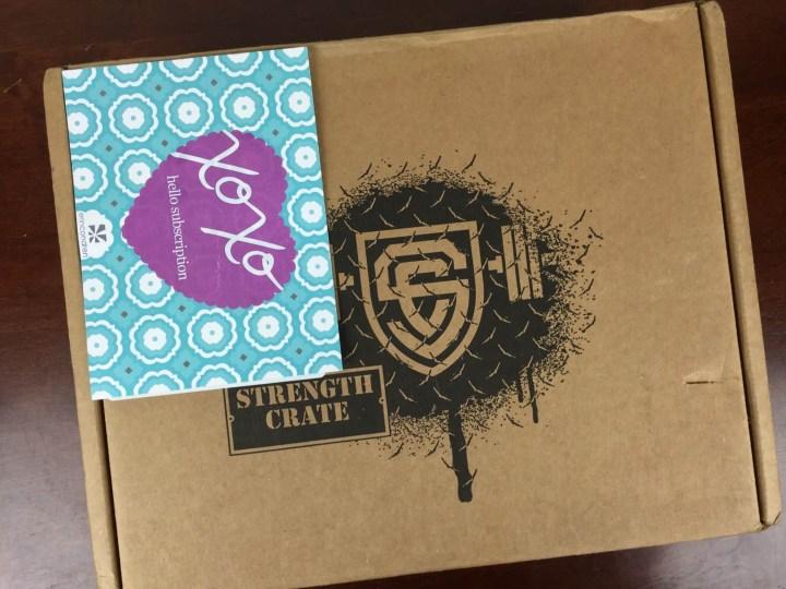 Strength Crate June 2016 box