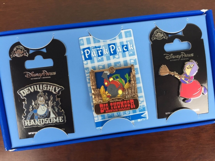 disney park pack pin trading july 2016 review