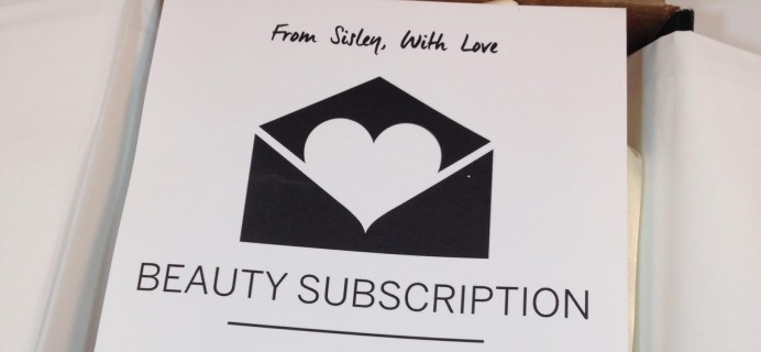 Sisley Paris Beauty Box June 2016 Subscription Box Review