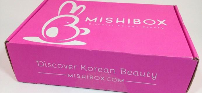 MISHIBOX Korean Beauty Box Review July 2016